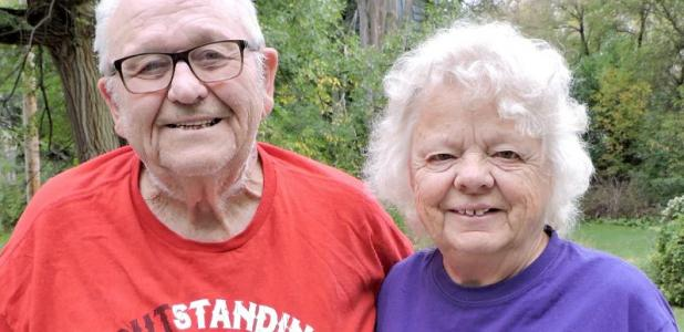 Leonard and Lois Marquardt have traveled the world, visiting all seven continents.