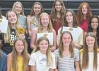 Byron's girls track team celebrated the just-ended season with a awards program.