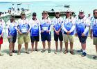 Kasson-Mantorville students competed this year in the High School Bass Nation League where they caught their fish and brought them to a live weigh-in to record their catch before the fish were released.