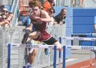 Triton's Owen Petersohn finished fourth in the 110 high hurdles and fifth in the 300 meter hurdles.